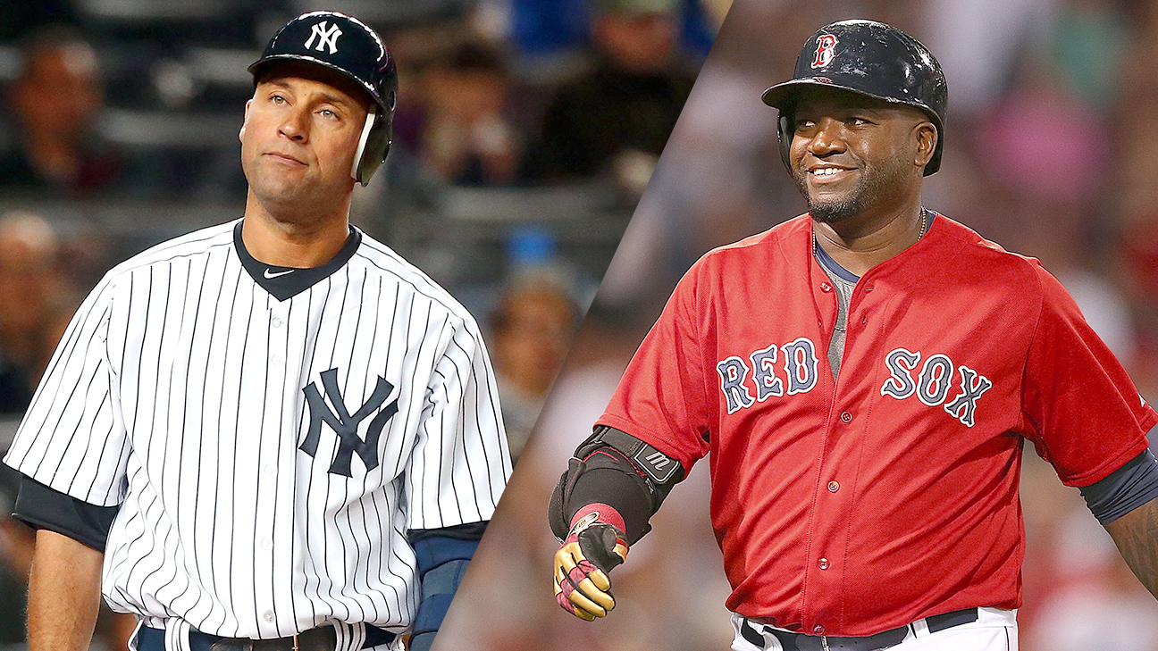 Derek Jeter and David Ortiz