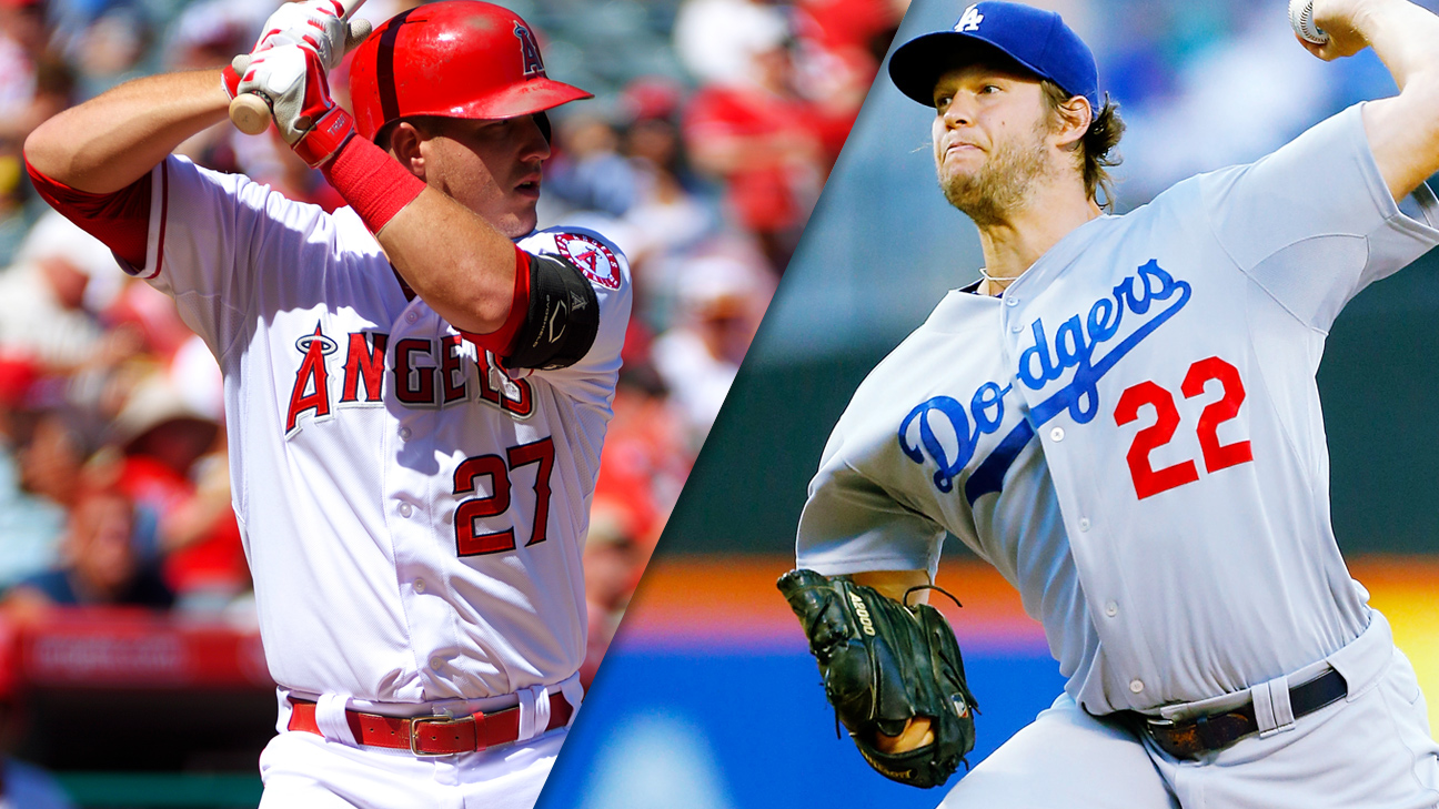 Mike Trout, Clayton Kershaw