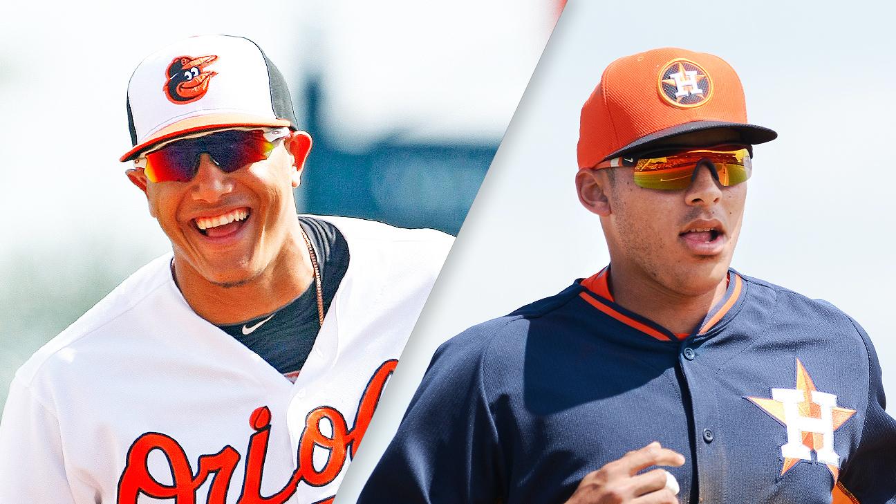Manny Machado and Carlos Correa