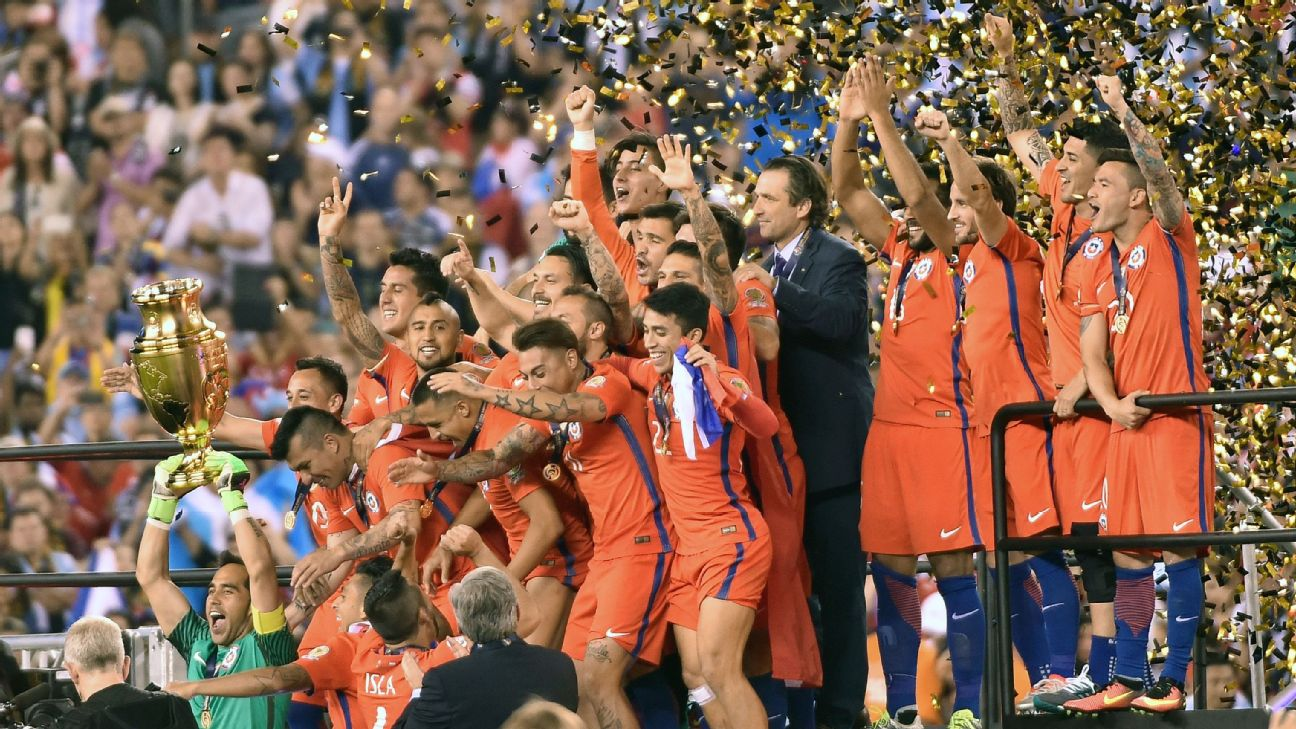 Chile lifts the Copa America