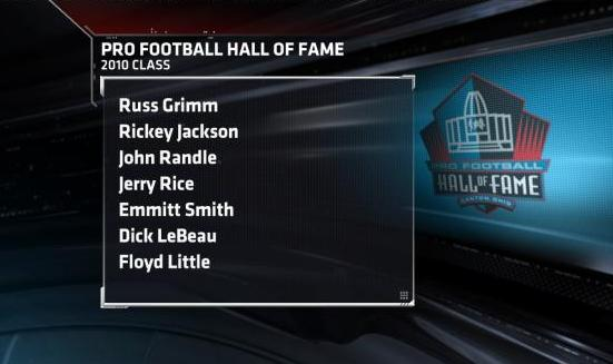 Pro Football Hall of Fame Class of 2010