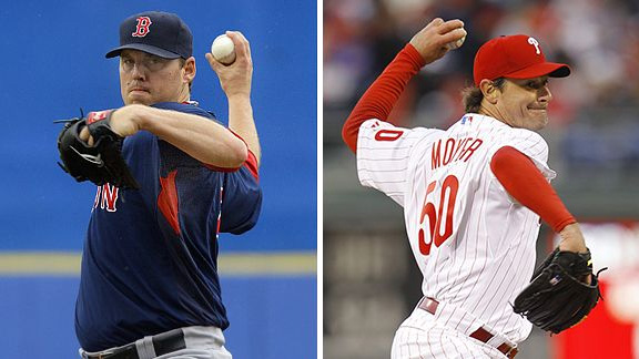 John Lackey/Jamie Moyer