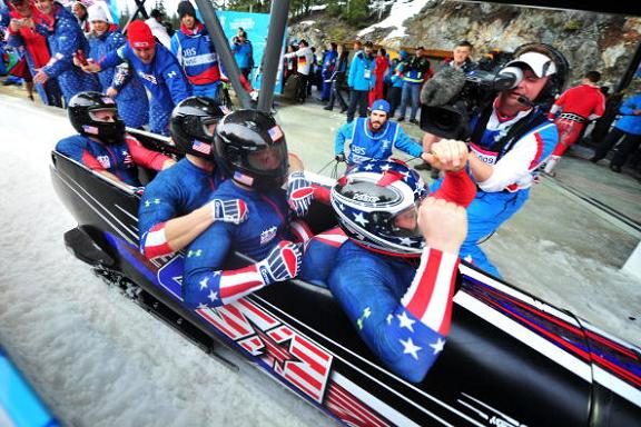USA Bobsled Gold