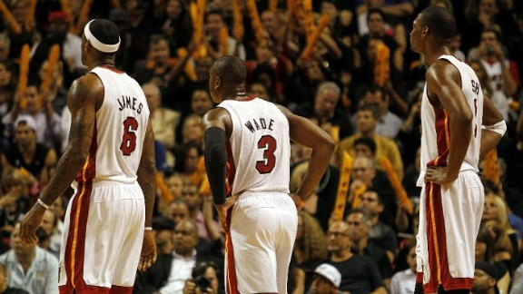LeBron James, Dwyane Wade, Chris Bosh