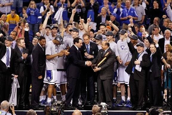 2010 NCAA Division I Men's Basketball National Champion Duke Blue Devils
