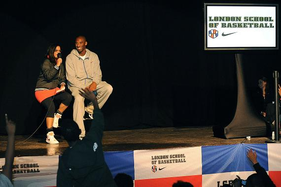 Kobe Bryant in London