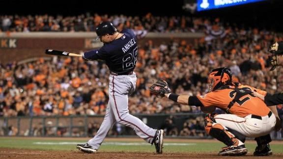 Rick Ankeil hits a game-winning homer