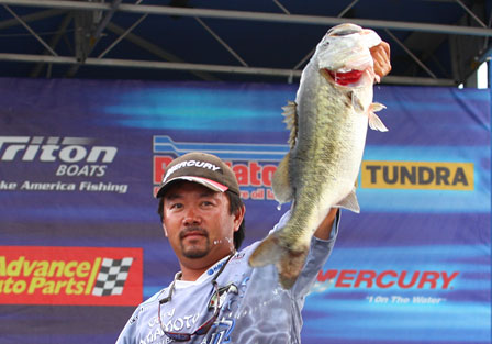 Elite Angler Ben Matsubu