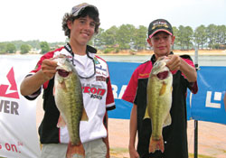 High school bass fishing