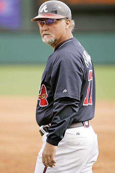 Humiliated baseball man