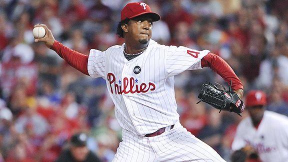 Philadelphia Phillies' Pedro Martinez pitches eight shutout ...